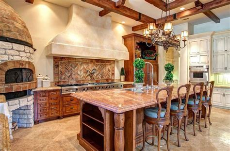 tuscan kitchen island 29 tuscan kitchen ideas decor designs