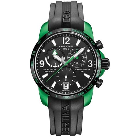 Certina Ds Podium Big Size Chrono C0016472205700 certina watches ds podium big size chrono gmt c0016399705703