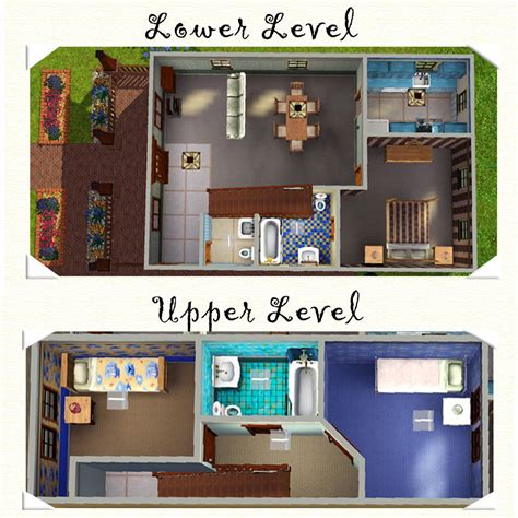 sims 2 floor plans mod the sims 2 swan road