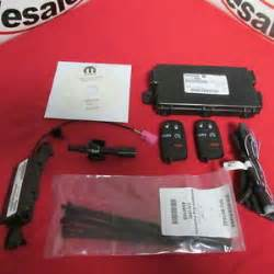 Remote Start App For Dodge Dodge Challenger 2015 Remote Start Kit New Mopar Ebay