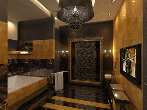 Gold And Black Bathroom Ideas 31 Black And Gold Bathroom Tiles Ideas And Pictures