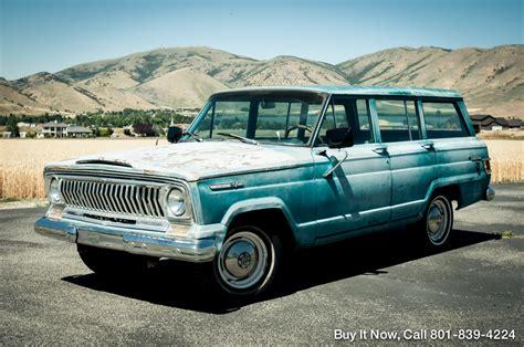 1969 jeep wagoneer 1969 jeep wagoneer kaiser 4wd wagoneer everything