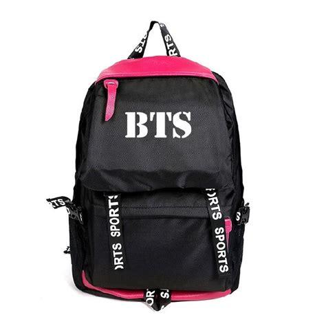Backpack Btskpop kpop bts backpack bangtan boys travel sports bag suga jimin casual bookbag ebay