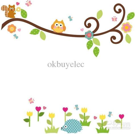 sweet bird and tree clipart set with cute little owl cute bird tree clipart 60