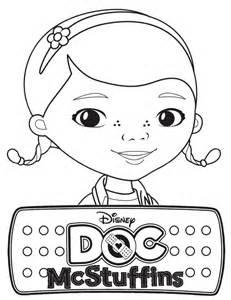 Disney Doc McStuffins Coloring Page sketch template