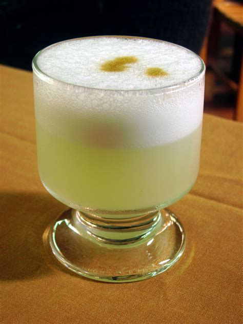 pisco sour wikiwand