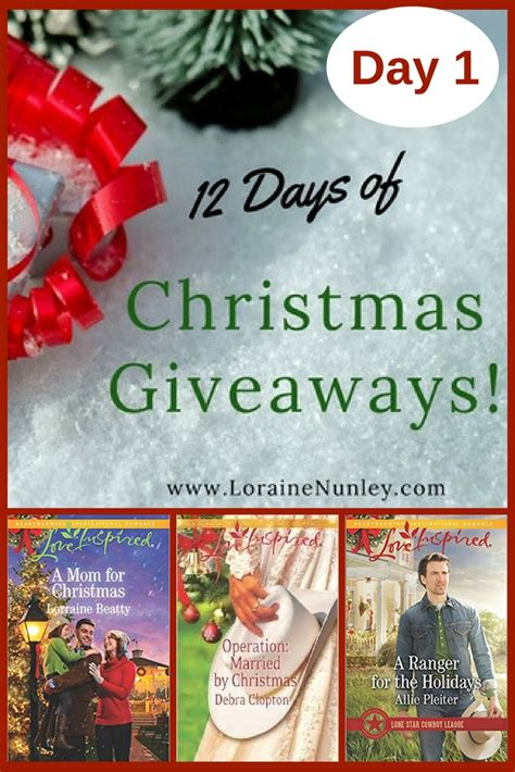 2017 Christmas Giveaway - 12 days of christmas giveaways 2017 day 1 loraine d nunley author