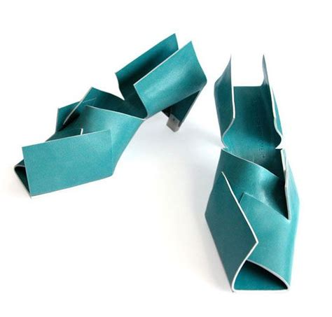 Origami Shoes - colorful origami shoes for the who has everything
