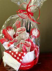 Kitchen Gifts Ideas by Kitchen Gift Basket From The Dollar Tree Gift Ideas