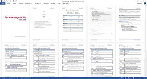5 training guide template word free sampletemplatess