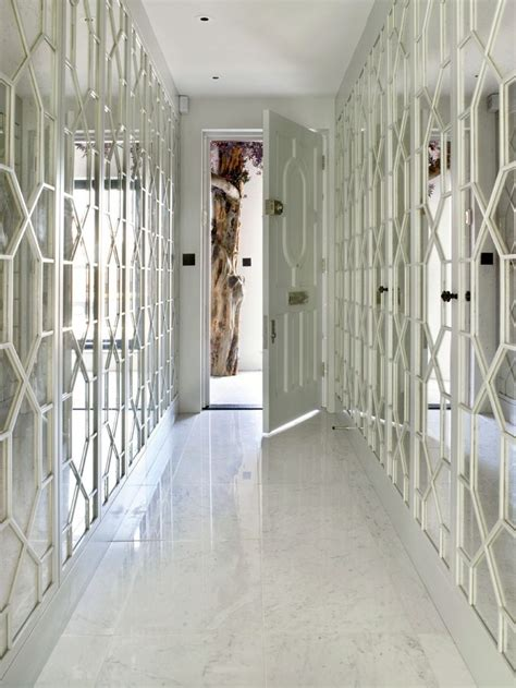 Hallway Mirrors Mayfair Bachelor Pad Hallway Feature Mirror Panelling Portfolio 7 Hallways