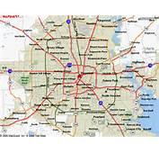 Map Houston Surrounding Areas
