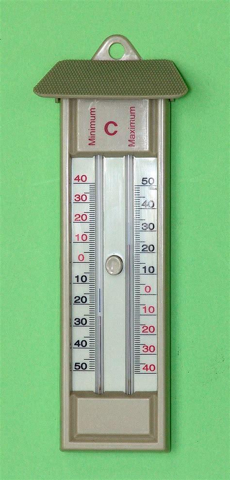Termometer Maksimum Minimum globe globe maximum minimum thermometer education equipment che scientific co hong