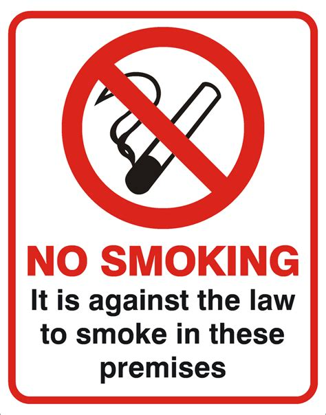 no smoking signs law scotland smoking against the law
