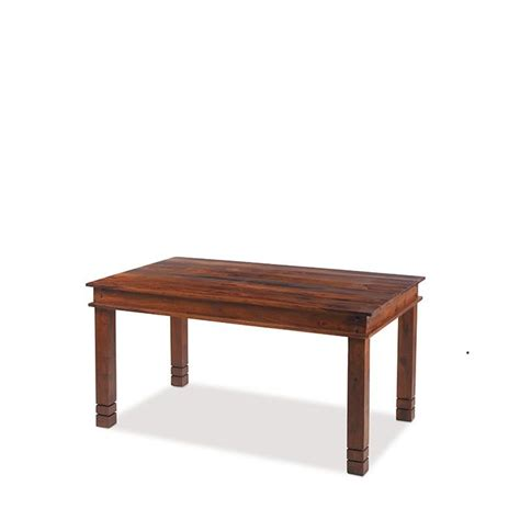 Sheesham Wood Dining Tables Jali Sheesham Wood Chunky Dining Table 180cm