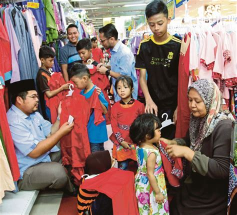 Baju Anak Harian Murah Slipper tujuh beradik dapat bantuan beli baju raya harian metro