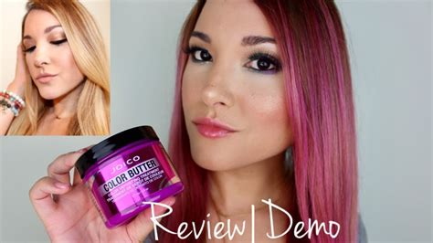 butter color joico color butter in pink review demo