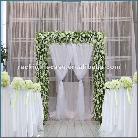 wedding sheer drapes fashion aluminum pipe and drape for wedding design buy