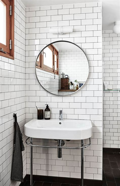 find the nearest bathroom bathroom look we love round mirrors style curator