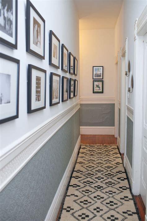 Narrow Foyer Design by 25 Best Ideas About Narrow Hallways On Narrow