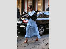 Milan Fashion Week Street Style 2017 Lauren Graham 2017