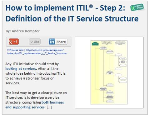 It Service Definition Template by 23 Best Itil Images On Template Operating