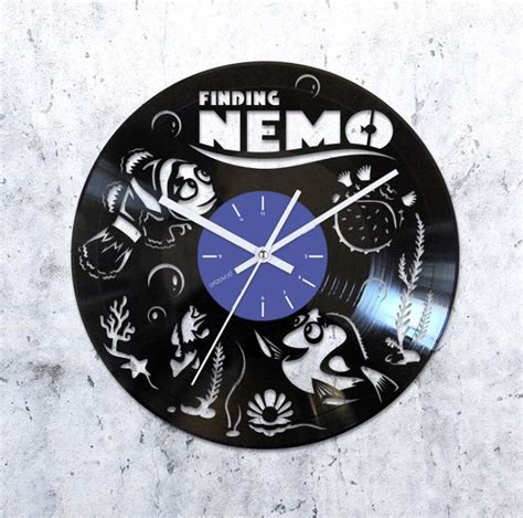 The Batman Clock Gives You Cool Credentials by Finding Nemo Vinyl Record Clock Disney