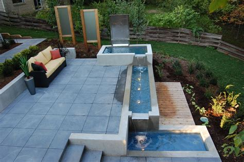 Outdoor Designs Patio With Water Features Outdoor Water Features For Patios