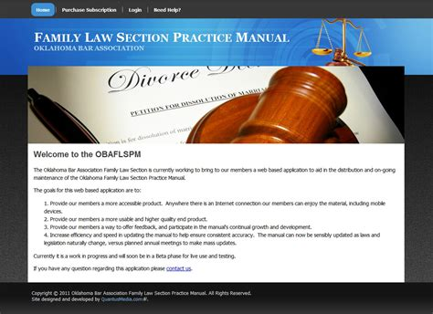 family law section oklahoma web design oklahoma drupal development
