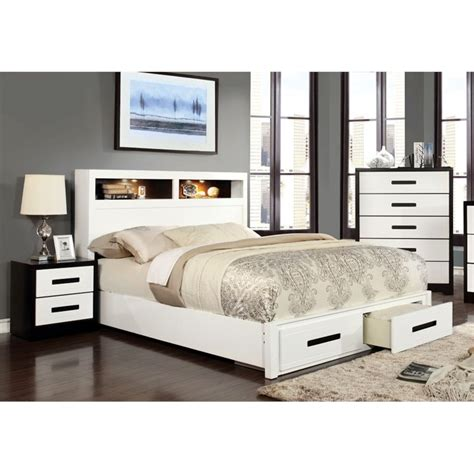 3 piece bedroom furniture set furniture of america dimartino 3 piece queen bookcase