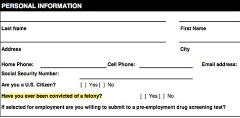 How To Tell An Employer You A Criminal Record California S Fair Chance Employment Act Targeting Construction Contractors