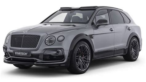 bentley startech tuning startech s occupe du bentley bentayga