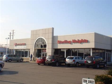 Michigan Jeep Dealers Sterling Heights Dodge Chrysler Jeep Sterling Heights