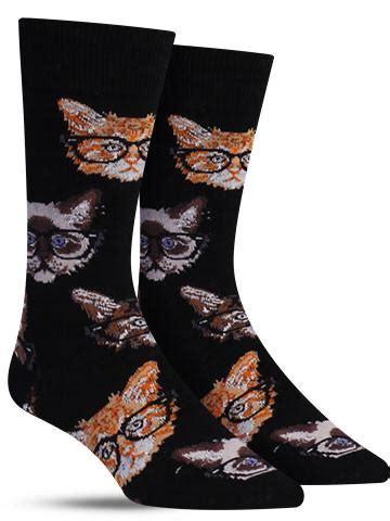 sock drawer relax my cat mens kittenster unique animal socks for