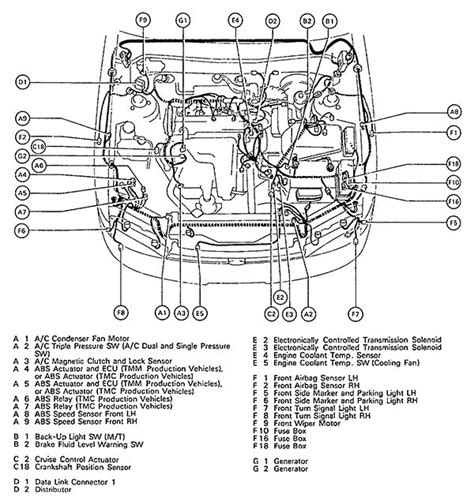 toyota tacoma engine parts diagram free wiring