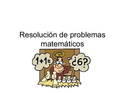 resolucion de intendencia nacional n resoluci 243 n de problemas matem 225 ticos