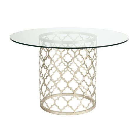 ethan allen glass dining table tracery dining table ethan allen us glass dining