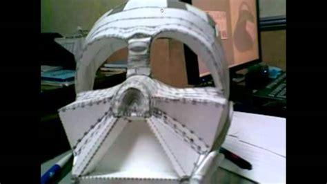 Darth Vader Mask Papercraft - darth vader helmet pepakura