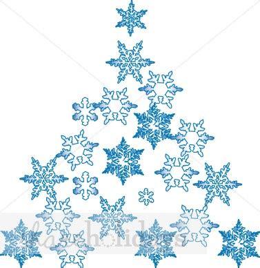 snow flake tree snowflake tree tree clipart