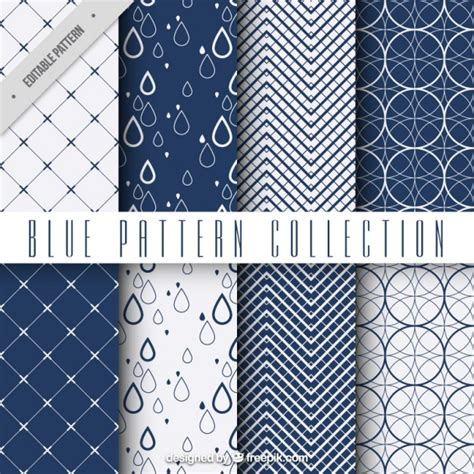 free pattern geometric ai geometric blue patterns vector free download