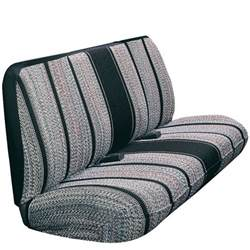 Seat Covers Bench Seat Classic Cars Front Row Bench Seat Cover Black Saddle