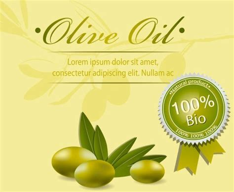Free Vector Olive Oil Labels And Logos 01 Titanui Olive Labels Templates