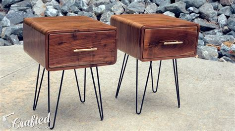 mid century accent table mcm modern jetsons space age cool mid century modern walnut end table how to build