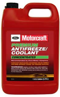 what color is radiator fluid motorcraft 174 engine cooling system products and engine