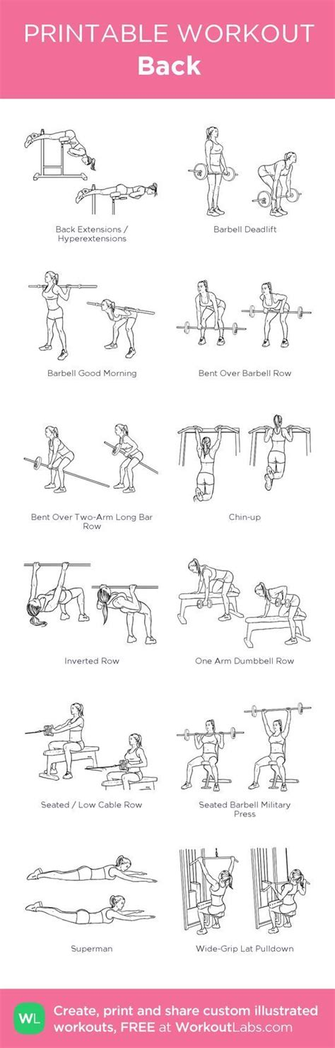 printable exercise routines home best 25 natural bodybuilding women ideas on pinterest