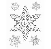 Christmas Coloring And Activity Pages Snowflakes