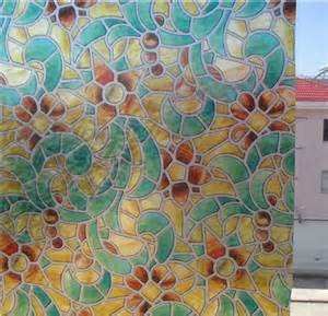 Pictures of Stained Glass Window Films