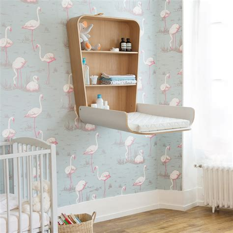wall hanging changing table crane noga changing table houseology