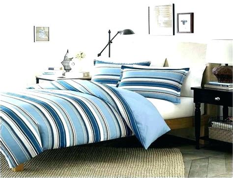 blue french country bedding  room design nature