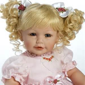 Adora little sweetheart vinyl baby doll blonde hair blue eyes